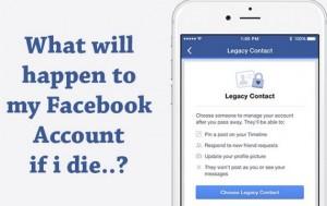 Facebook est en train de lancer un système, permettant de choisir un hériter de notre profil.