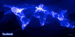 Le réseau Facebook- plus que 4.74 degrés de séparation