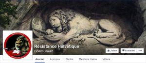 Le Lion de Lucerne est mis en photo de couverture de la page. Il symbolise la dévotion des gardes suisses.